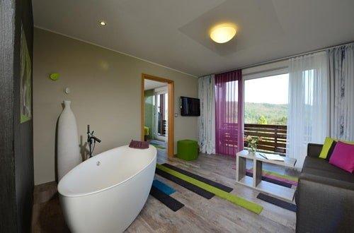Badezimmer Romantik Hotel