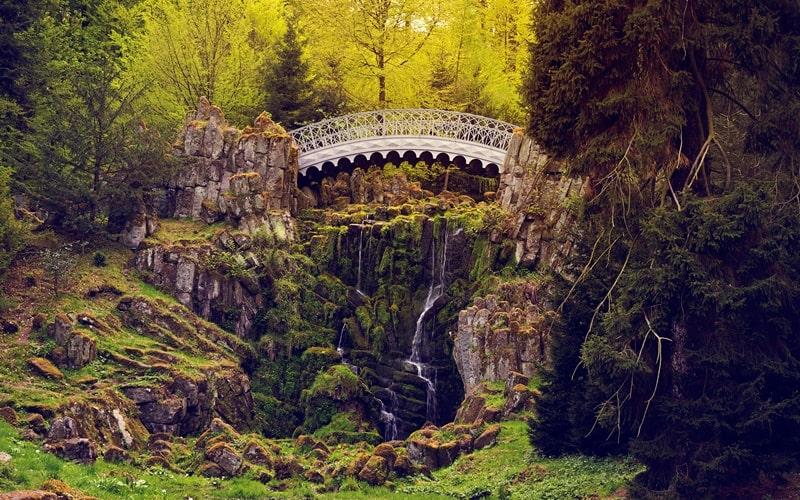 Bergpark Kassel Teufelsbrücke