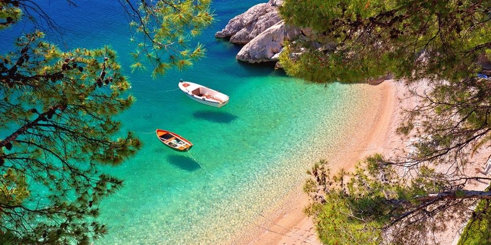 Kroatien Urlaub am Meer am Sandstrand