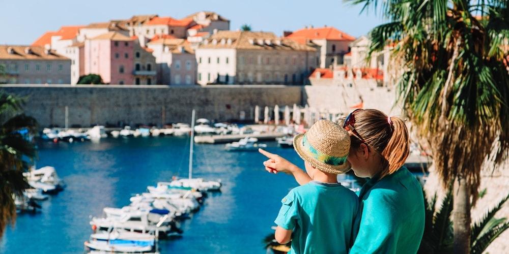 Kroatien Urlaub am Meer mit Kindern