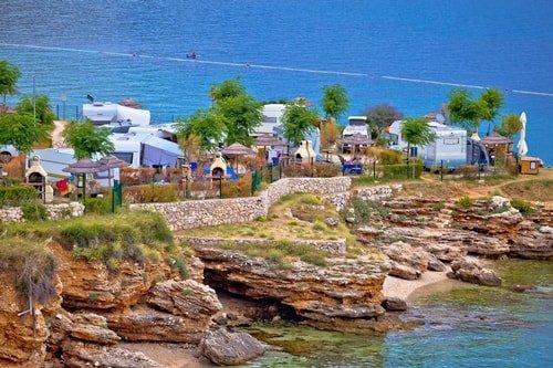 Urlaub am Meer Campingplatz Kroatien