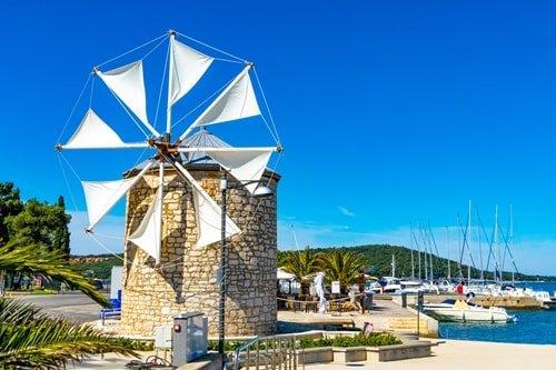 Urlaub an der Küste Medulin Istrien
