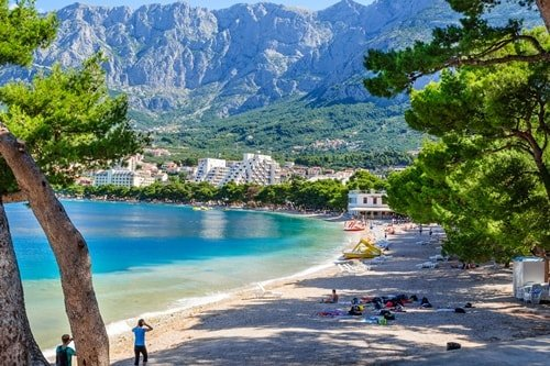 Urlaubsorte Dalmatien Makarska
