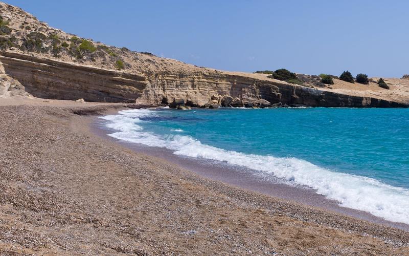 fourni beach rhodos strände
