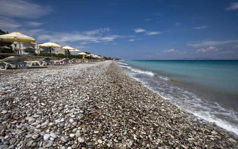 ialysos strand rhodos