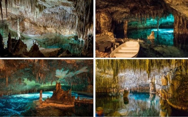 Collage Drachenhöhle