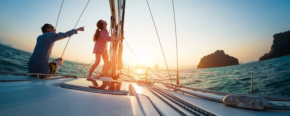 Inselhüpfen Kroatien segeln Kornaten