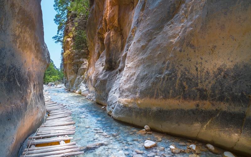 Kreta Schlucht Samaria