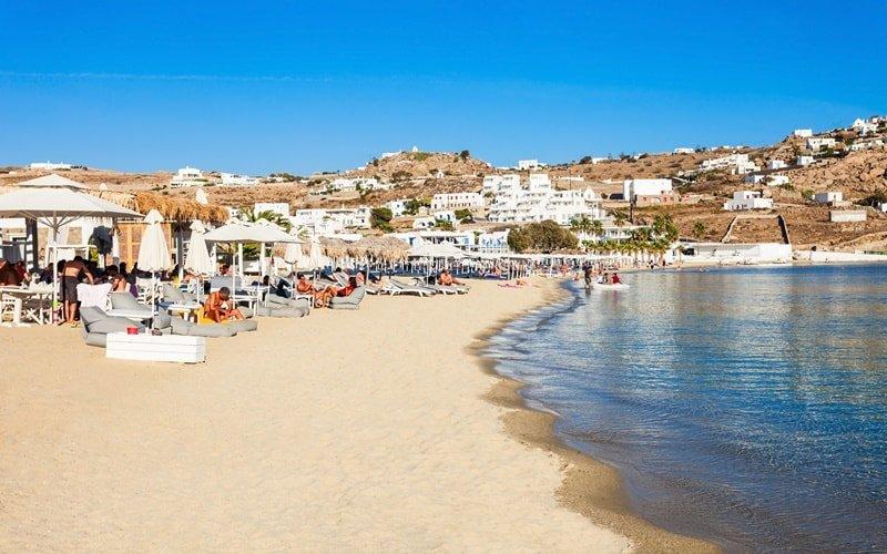 Paradiese Beach Mykonos