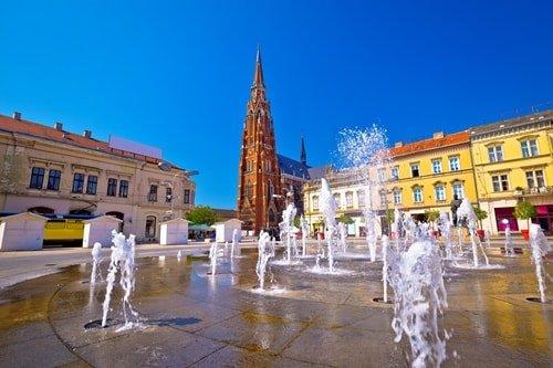 Urlaub Kroatien Osijek
