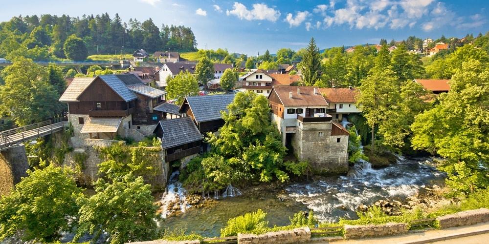 Urlaub in Kroatien Landesinnere