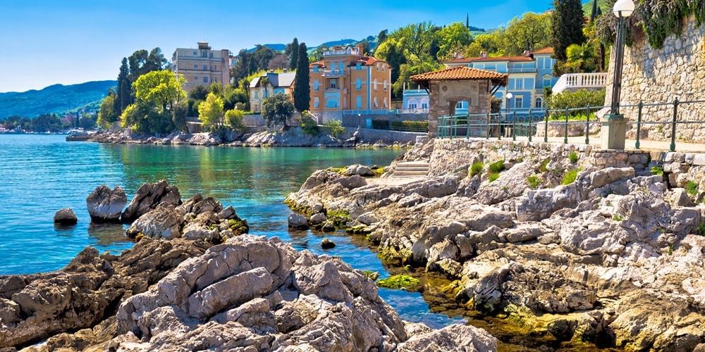 Urlaub in Kroatien Opatija