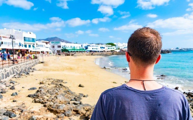 Badestelle Playa Blanca Lanzarote