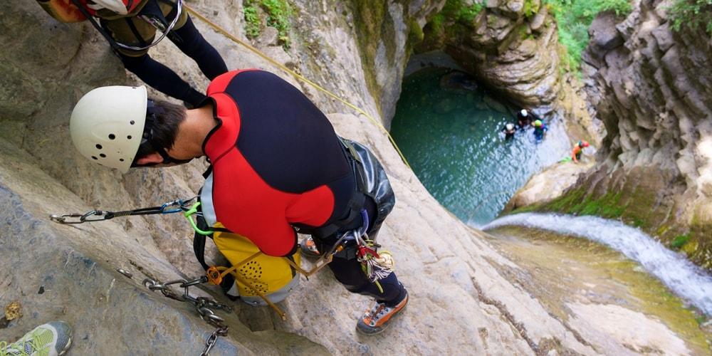 Canyoning Kroatien