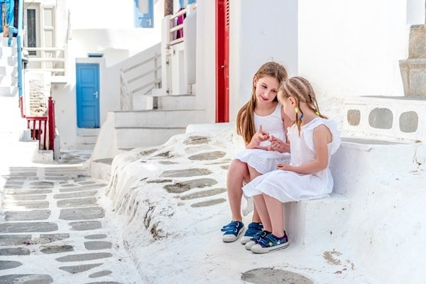 Familienurlaub Mykonos
