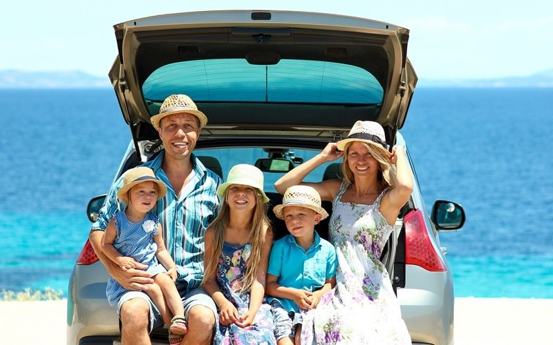 Griechenland Rundreise Familie