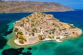 Halbinsel Spinalonga auf Kreta