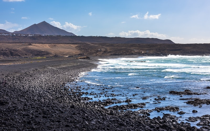Janubio Beach Lanzarote