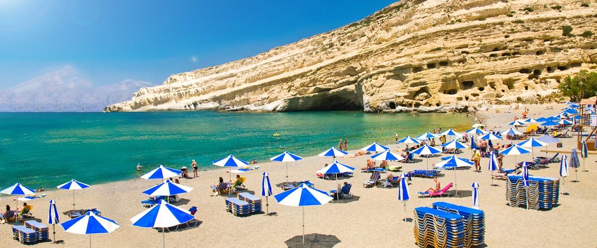 Kreta beliebte Urlaubsorte