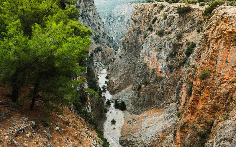 Kreta wandern schlucht aradena
