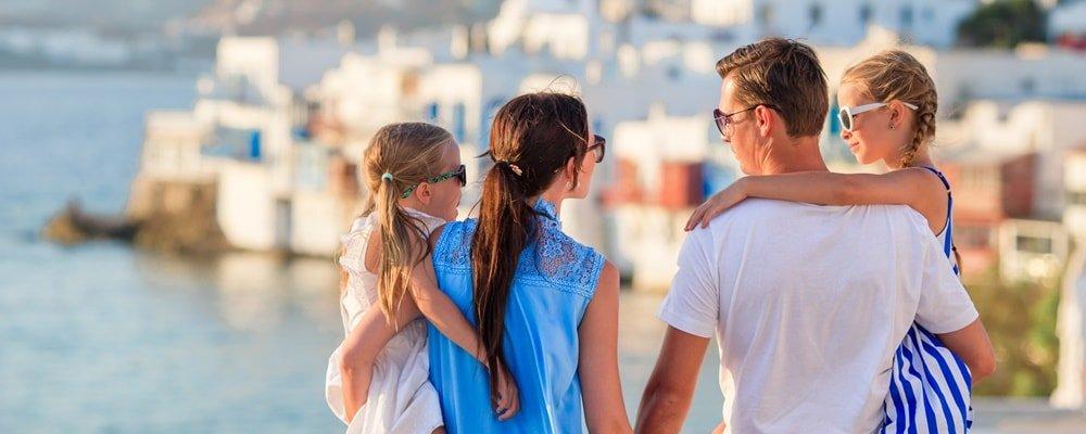 Mykonos Urlaub mit Kindern