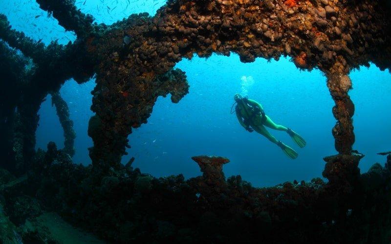 Tauchen Bucht von Palma