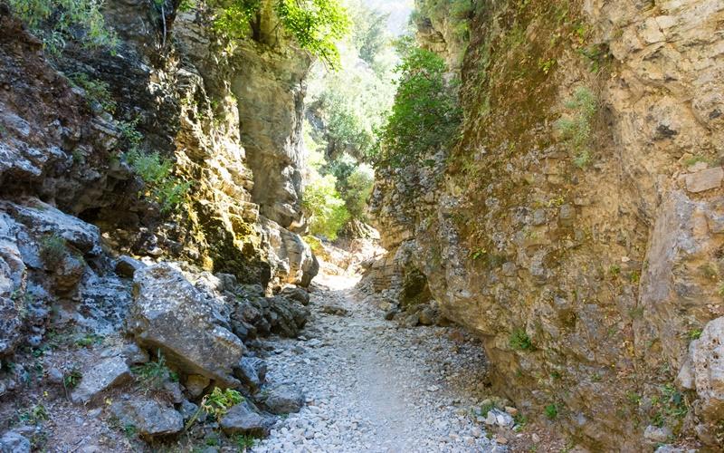 kreta wandern schlucht Imbros