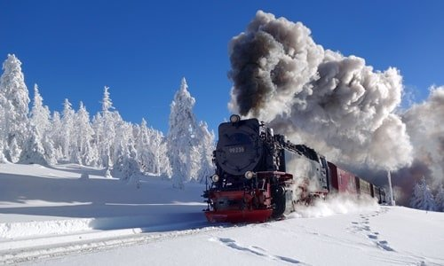 Brockenbahn Silvester