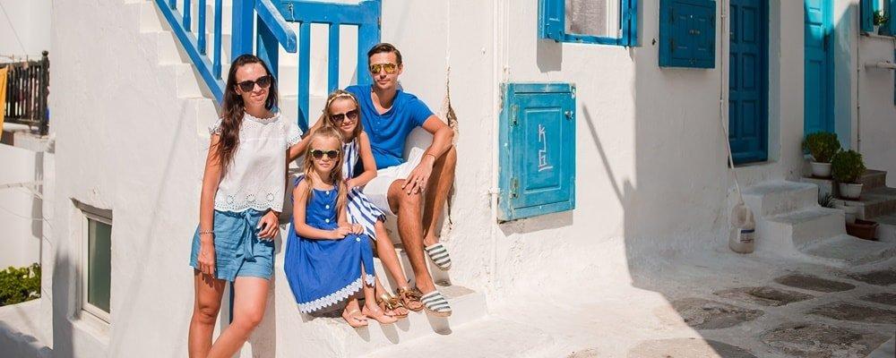 Familienurlaub Griechenland Reiseziele