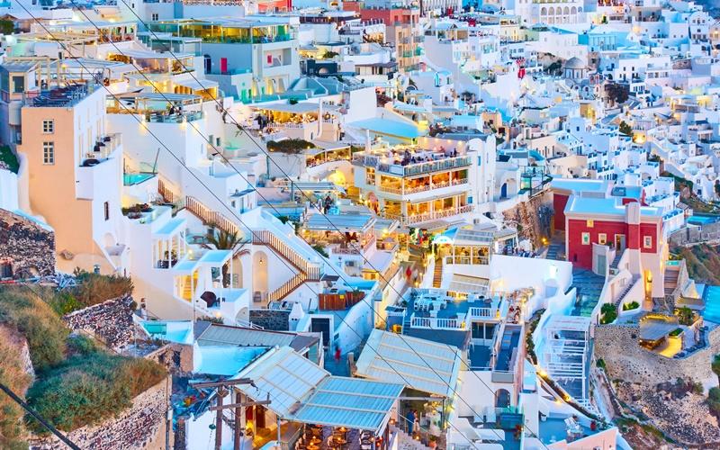 Fira Santorini Sehenswürdigkeiten