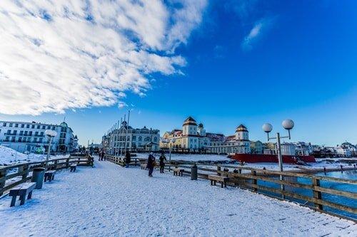 Ostseebad Binz Winter