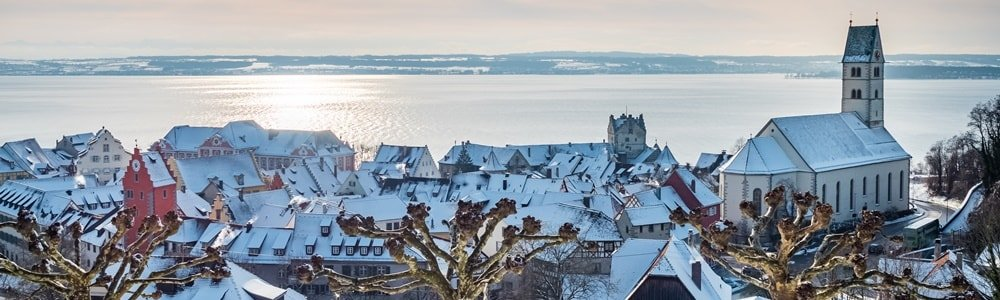 Silvester am Bodensee Aussichtspunkte