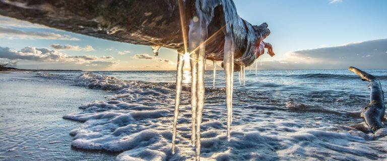 Silvester an der Ostsee