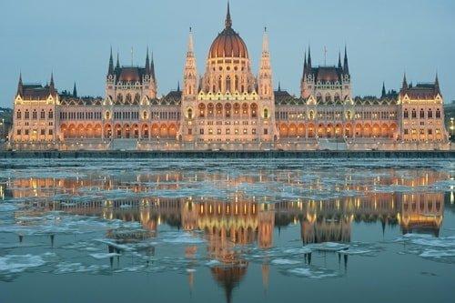 Silvester in Budapest