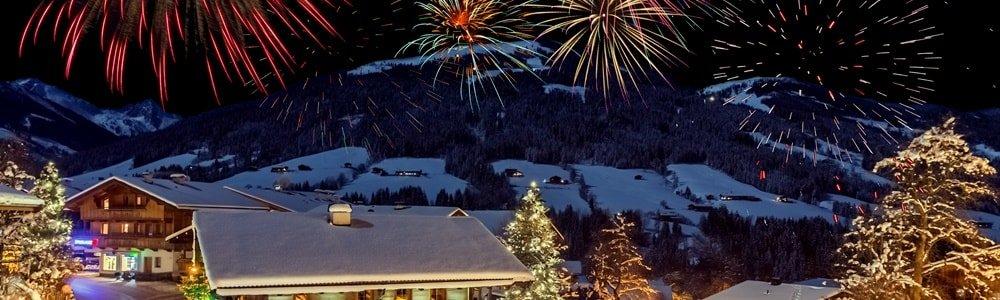 Silvester in den Bergen Österreich