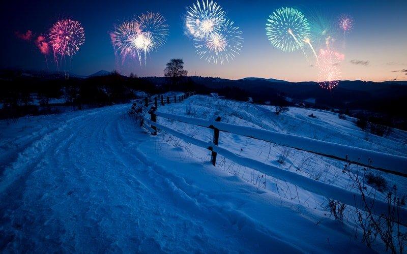 Silvester 2021 Alpen