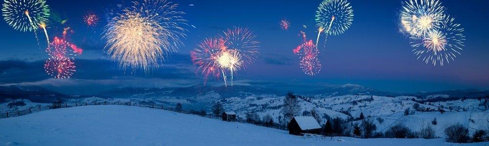 Silvester in den Bergen Deutschland