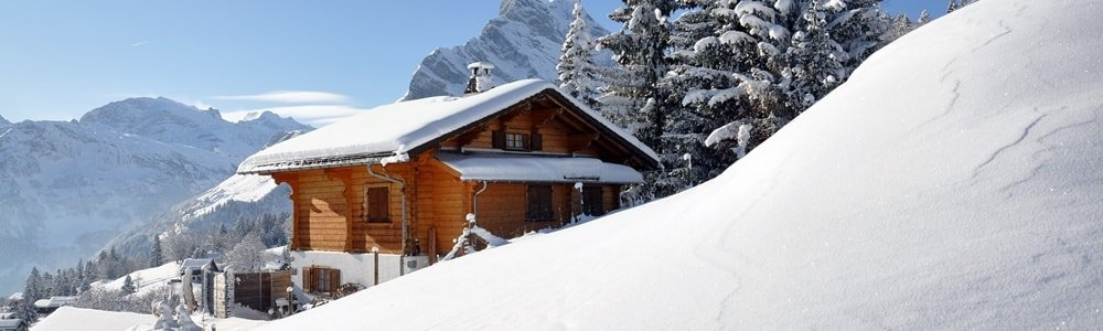 Silvester in den Bergen auf der Hütte