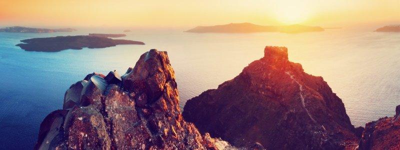 Skaros Rock Santorini