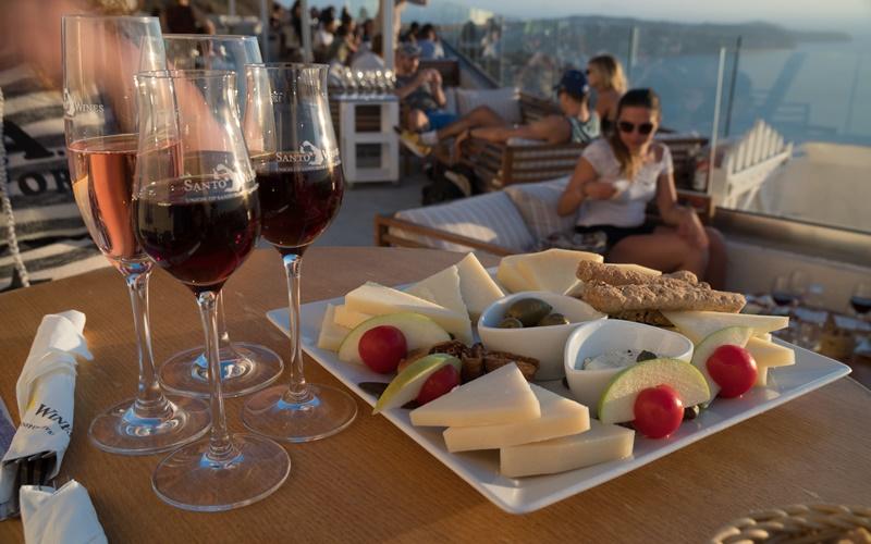 Wein Santorini