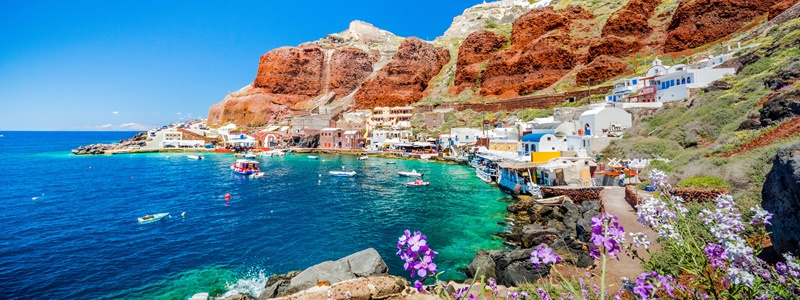 ammoudi Santorini