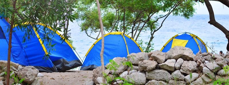 camping griechische inseln