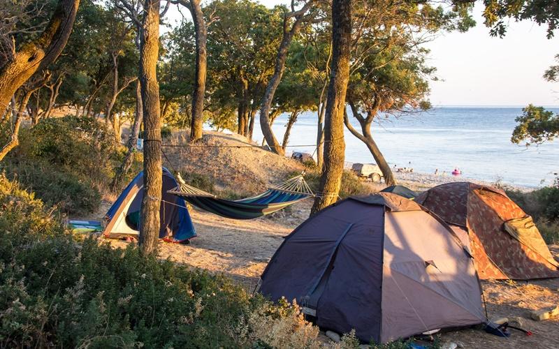camping peloponnes