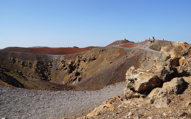 nea kameni vulkan santorini