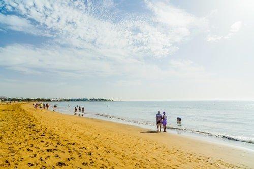 Los Pocillos Beach Lanzarote
