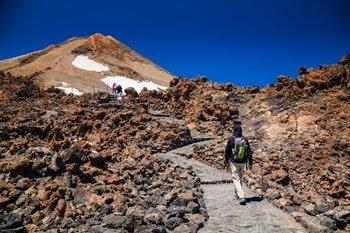 Pico el Teide Wanderweg