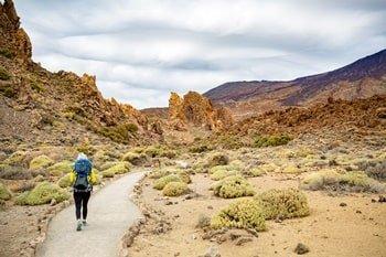 Teide Wanderweg