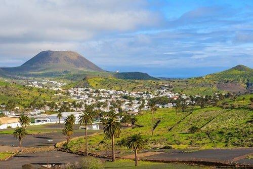 Urlaubsort Haria Lanzarote