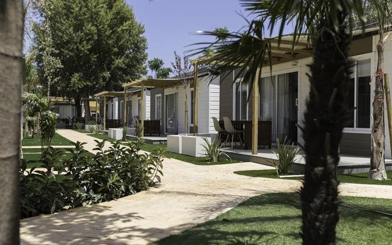 camping los llanos bungalows