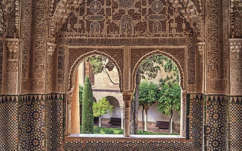 das besondere an der Alhambra